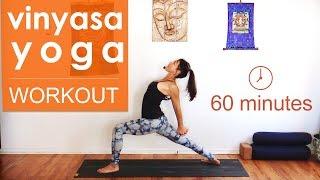Video Vinyasa Yoga Workout ~ Mandala Flow (1 hour) MP3, 3GP, MP4, WEBM, AVI, FLV Maret 2018