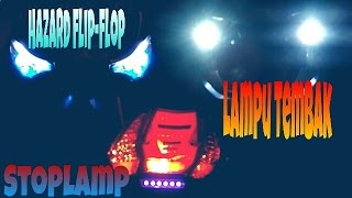 Video Lampu Variasi Supra X 125 | Kedik Tambah Tambah Video | supra125Holic MP3, 3GP, MP4, WEBM, AVI, FLV Juli 2018