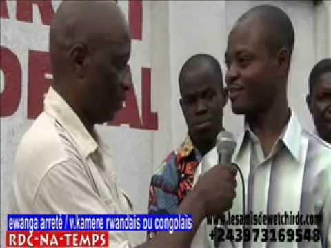 TÉLÉ 24 LIVE: EWANGA ARRÊTÉ & VITAL KAMERHE RWANDAIS OU CONGOLAIS ?  UNC KINSHASA REPOND AUX COMBATTANTS