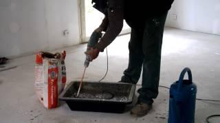 Pose Carrelage Alterné Partie3 - Préparation Du Mortier Colle