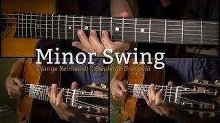 """Relevé (PDF) → https://www.guitare-improvisation.com/videos/releves_gratuits/Minor_Swing/Minor_Swing_releve.pdfRelevé (GP5) → https://www.guitare-improvisation.com/videos/releves_gratuits/Minor_Swing/Minor_Swing_releve.gp5Pour apprendre à improviser sur Minor Swing (cours de 93 min !) : https://www.guitare-improvisation.com/video_mineur-swing.phpBacktrack de """"Minor Swing"""" : https://youtu.be/tRAThtQ-OTM?list=PLUExMPmFbP3rU_T9xZRerGd0LYMS6_E7hJ'espère que vous apprécierez cette version personnelle de Minor Swing !I hope you'll enjoy my interpretation of Minor Swing  !If this video/transcription helped you, please donate here : https://goo.gl/B9eXzkSi cette vidéo et ce relevé vous ont aidé pensez à me soutenir en faisant un don ici : https://goo.gl/B9eXzkGuitare : Martin Gioani (https://www.martingioani.com):::::::::::::::::::::::::::::::::::::::::::::::::::::::::::::::::::::::::::::::::::::Pour suivre les actualités du site (tutoriels, playbacks) abonnez-vous à cette chaîne Youtube et à la page Facebook : https://www.facebook.com/GuitareImprovisation"""