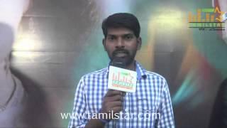 Thamarai Das at Aroopam Movie Trailer Launch