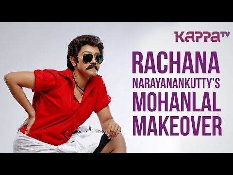 Rachana Narayanankutty's Mohanlal Makeover - Photoshoot - Page 3