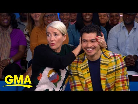 Henry Golding and Emma Thompson talk 'Last Christmas' l GMA