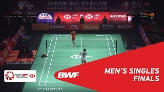 Video F | MS | Kento MOMOTA (JPN) [1] vs CHOU Tien Chen (TPE) [4] | BWF 2018 MP3, 3GP, MP4, WEBM, AVI, FLV November 2018