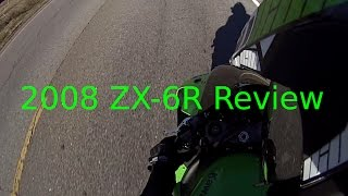 2. 2008 Kawasaki Ninja ZX-6R - The Review