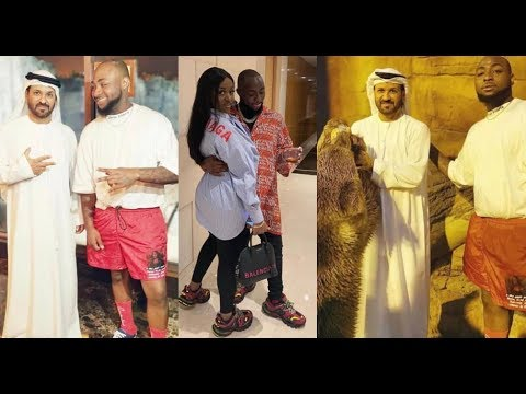 Davido Introduces His Wife Chioma To Billionaire King Of Dubai