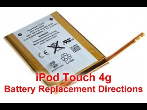 replacement - http://www.directfix.com iPod Touch 4g battery repair, replacement & reassembly video directions. This will step you through the directions on how to repair ...