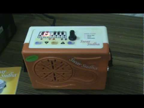BUY ELECTRONIC SHRUTI BOX SWAR SUDHA-RAAGINI-TAAL TARANG-TABLA-HARMONIUM-SITAR-GUITAR-TUNER
