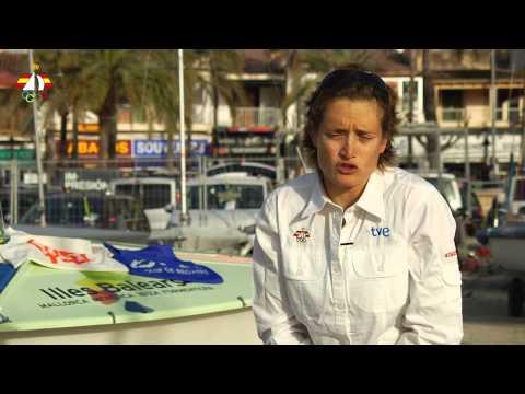 Especial Olímpicos  470 Fátima Reyes y Marina Gallego