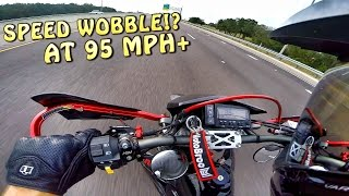 2. TOP SPEED OF MY SUPERMOTO! | DRZ 400SM
