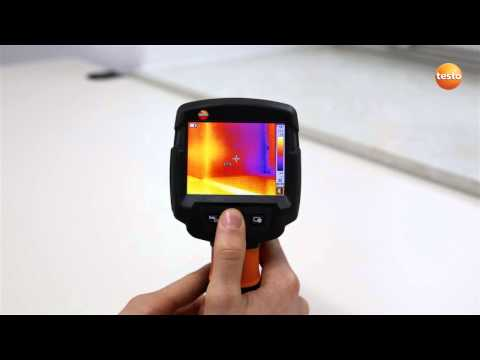 testo 870 - Step 08 - Activating Camera functions