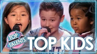 Video TOP Kids Singing Auditions | Celine Tam, Heavenly Joy & MORE! | Top Talents MP3, 3GP, MP4, WEBM, AVI, FLV April 2019