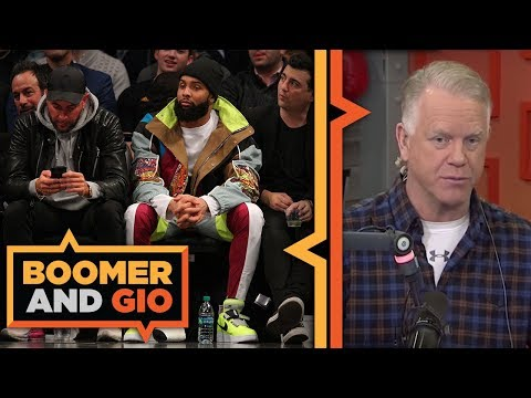 Video: ODELL BECKHAM JR. tweets to the Rams | Boomer and Gio