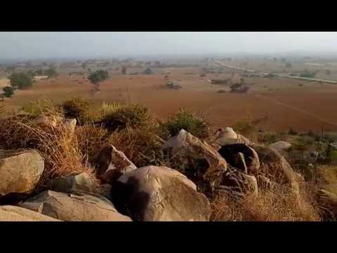 Ashokan Major Rock Edict at Yerragudi, Andhra (видео)