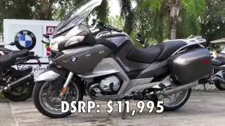 7. Pre-Owned 2013 BMW R 1200 RT Fluid Grey Metallic at Euro Cycles of Tampa Bay