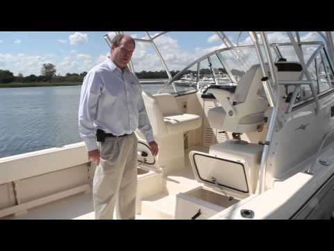 Grady-White CHESAPEAKE 290 Walkthrough with Eric Sorensen