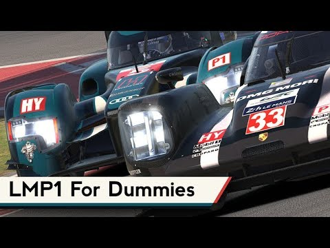 iRacing's LMP1 Hybrid System Explained (a bit)