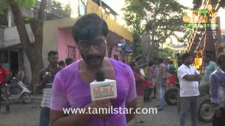 Kishore at Kadikhara Manithargal Movie Shooting Spot