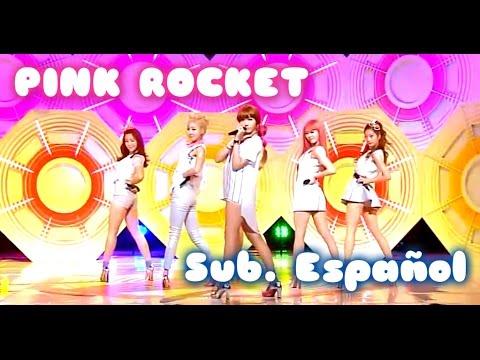 Download [Sub. Español] Dal shabet - Pink Rocket - Live (달샤벳) (핑크 로켓) HD Video