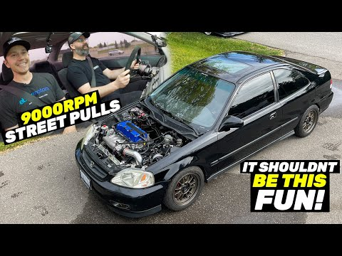 The K20 Swap Honda Civic is Something VERY SPECIAL