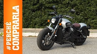Indian Scout Bobber | Perché comprarla... E perché no - Video Test
