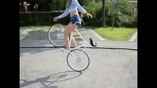 Nonton Sexy Girl Bicycle   Bike Tricks Film Subtitle Indonesia Streaming Movie Download