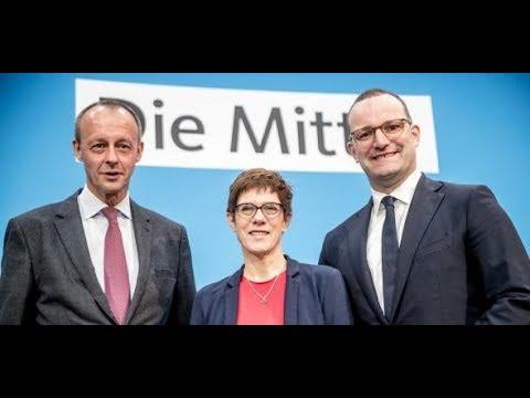 Parteivorsitz: In CDU und CSU müssen sich neue Köpfe behaupten