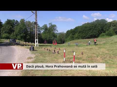 Dacă plouă, Hora Prahoveană se mută în sală