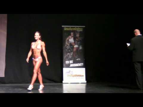 Norway Open 2012 | Womens bikini fitness + 163 cm (t-walk)