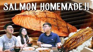 Video Puas!!! Makan Salmon Sepuasnya !!! MP3, 3GP, MP4, WEBM, AVI, FLV Februari 2019