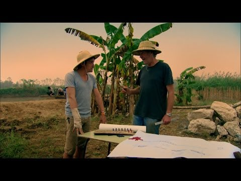 Bridge building over the River Kwai - Top Gear Burma Special Part Two: Series 21 Episode 7 - BBC Two