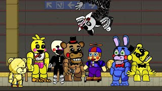 Scribblenauts Unlimited 86 Five Nights at Freddy's 2 Animatronics in Object Editor