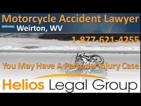 Weirton Motorcycle Accident Lawyer & Attorney – West Virginia