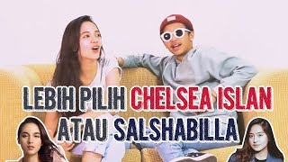 QUESTION : Lebih Pilih Chelsea Islan Atau Salshabilla? | Q & A with Rhesma Annisa