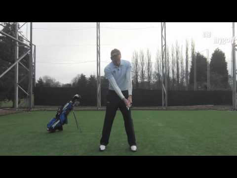 Golf Swing Drill – Stop scooping at impact