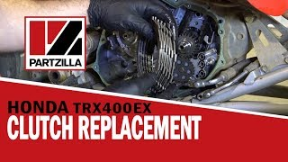 9. Honda ATV Clutch Replacement - 400EX | Partzilla.com