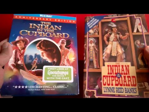 Let's Open! The Indian In The Cupboard (Anniversary Edition) [Blu-ray] (and book)