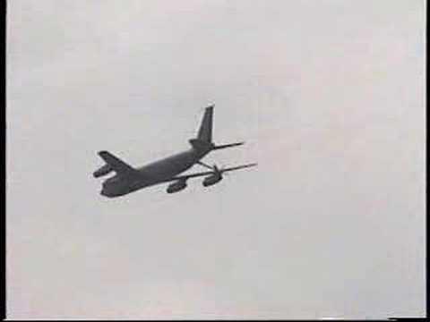 KC-135E Stratotanker and KC-10A...