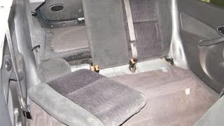 Ford Focus Back Seat Removal