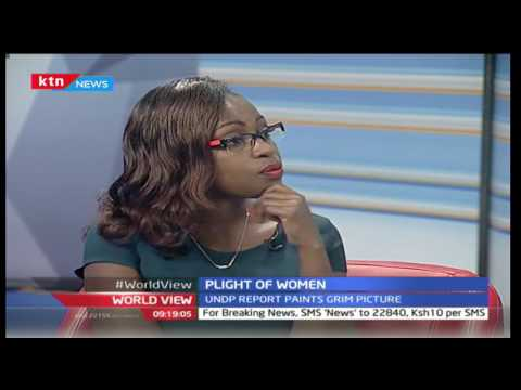 Plight of Women in Africa: Dr. Angela Lusigi, UNDP Adviser explains the UNDP Report