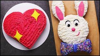 Satisfying Cake Decorating Tutorial | Cake Hacks | DIY Cake Decorating Tips by So Yummy
