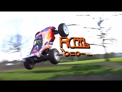 hobao - Finally got the ``O==O¬ Truggy Running Wasn't Perfect but still had a good lil bash BMX Tracks are great for RC Cars... Loving the way a Truggy Drives goes f...