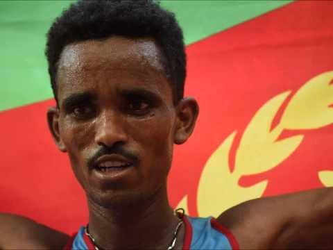አዋዜ (ALEMNEH WASSE NEWS) - Eritrea clinched first gold in world athletics beijing