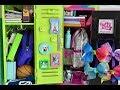 Packing American Girl Doll School Lockers ~ JoJo Siwa