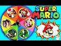 Juego De La Ruleta Sorpresa De Super Mario Bros Encuent