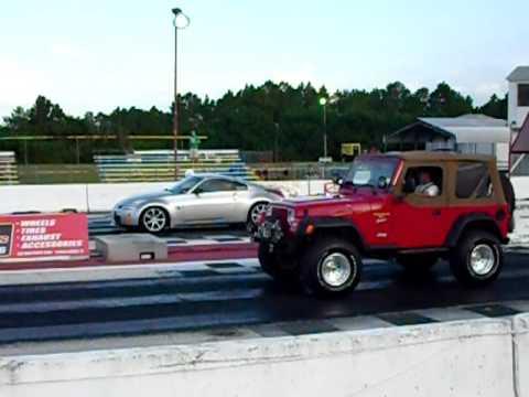 Turbo Wrangler vs. 350Z
