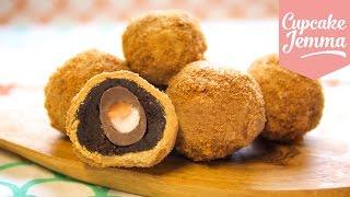 How to Make Creme Egg Scotch Eggs AND Caramelised White Chocolate| Cupcake Jemma by Cupcake Jemma