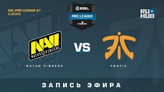 Na`Vi vs Fnatic - ESL Pro League S7 EU - de_cobblestone [ceh9, Enkanis]