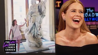 Jenna Fischer Had a Sexy Visit to Paris